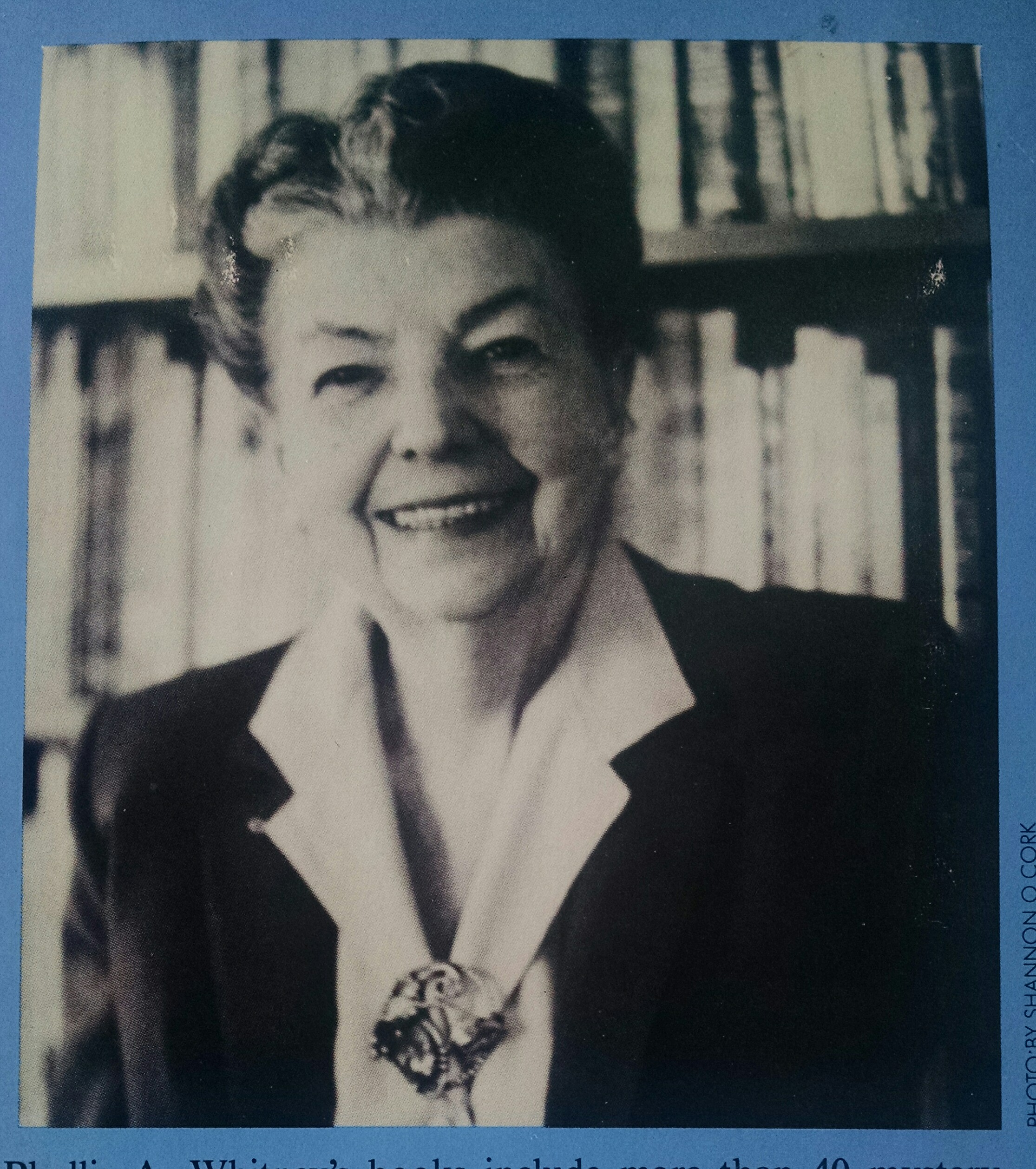 portrait of Phyllis A Whitney